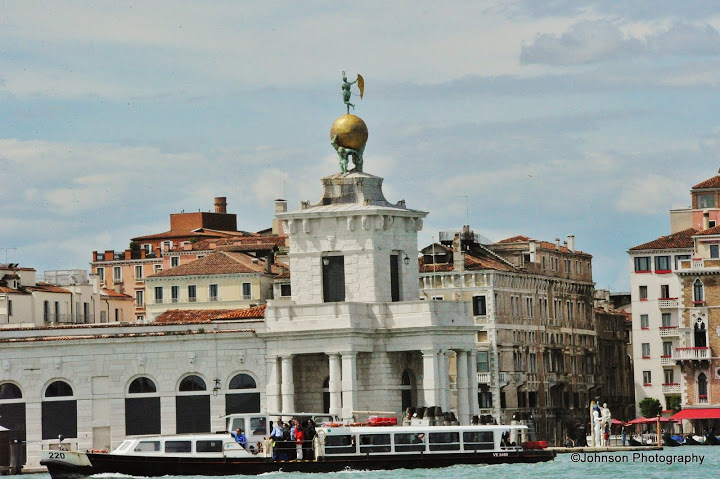 Venice Architecture – View from the Grand Canal