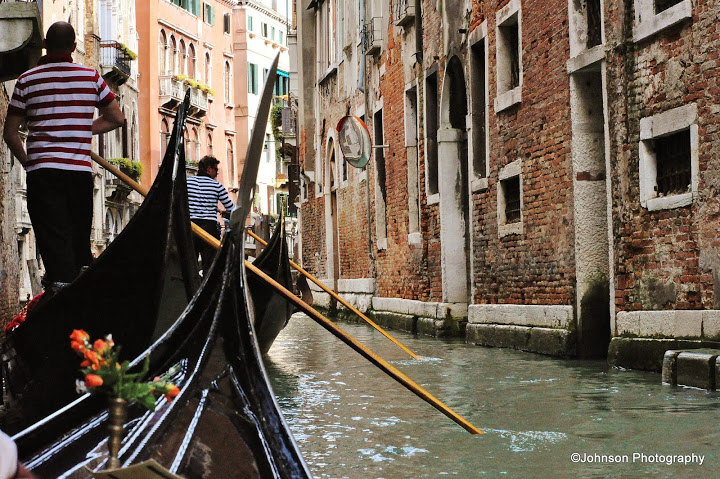Venice - The gondolas