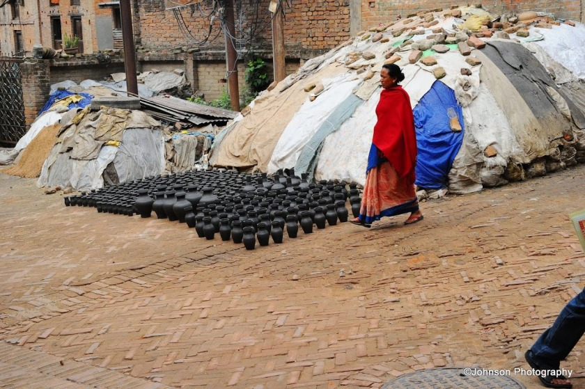 Bhaktapur Durbar Square - Potters Area