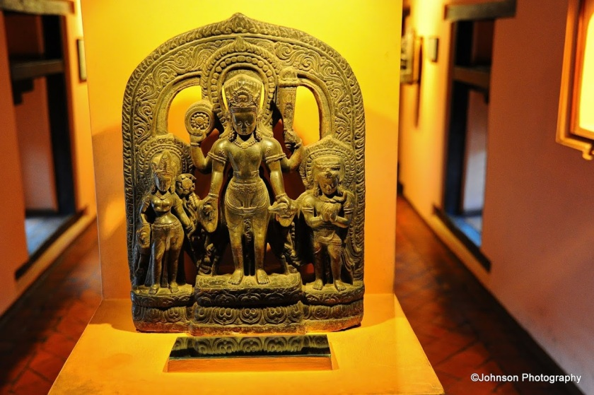 Patan Durbar Square - One of the exhibits in the museum