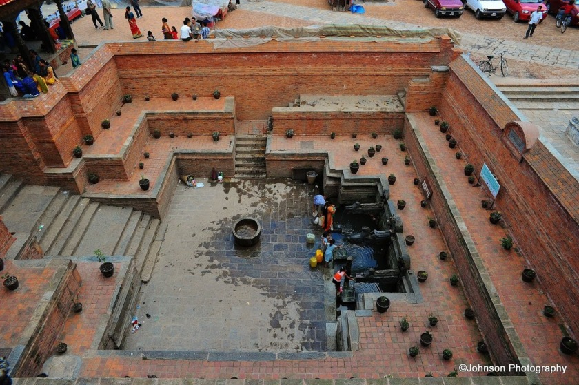 Patan Durbar Square - The bath