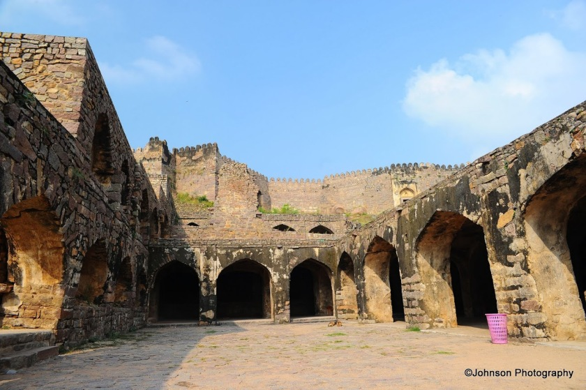 Inside the Golconda Fort