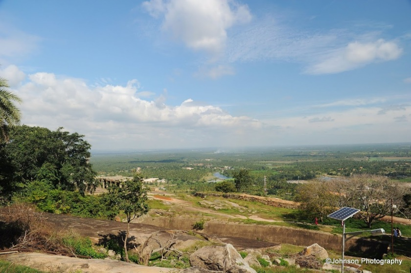 Amazing view from top of the Vindyagiri hill