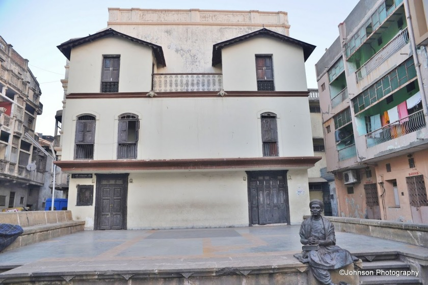 The renovated haveli of renowned Gujarati poet Dalpatram