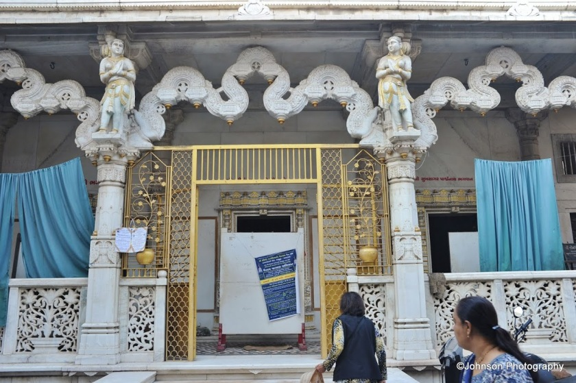 A Jain Temple with toranas
