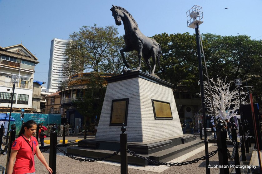 'Spirit of Kala Ghoda' – the 25 foot high statue installed recently