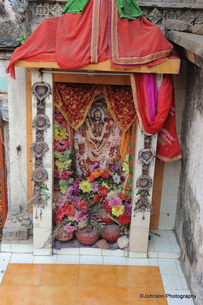 Inside Mata Bhavani's stepwell