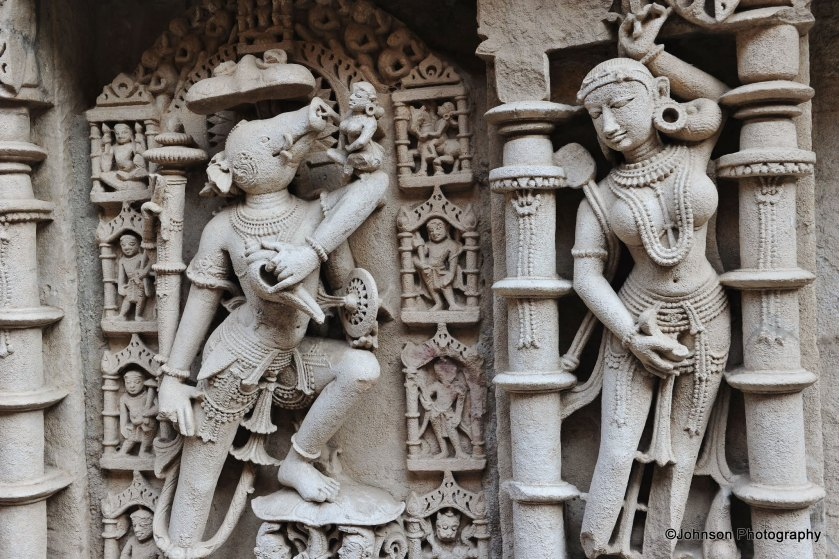 Detailed carvings - an incarnation of Vishnu
