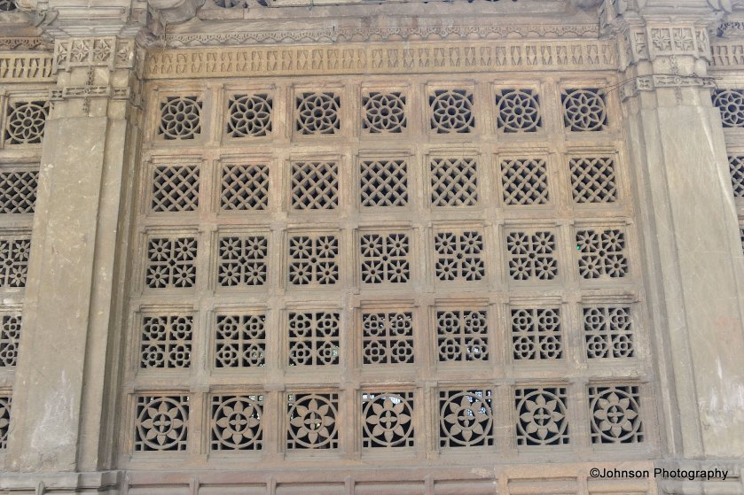 Jaali work on the tomb