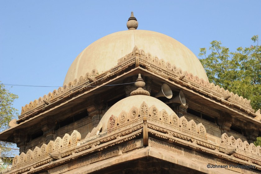 Architectural details of the tomb
