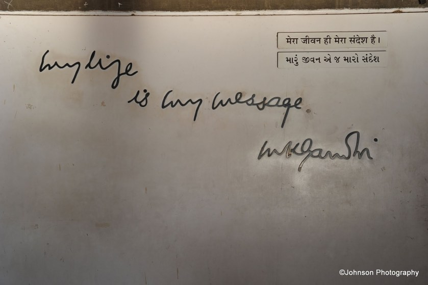 My life is my message - M K Gandhi
